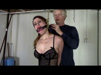 Lingerie Bound In The Basement - sex, tied, vid, new