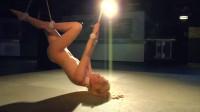 Ariel bondage dance