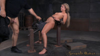 Madelyn Monroe bound on a sybain