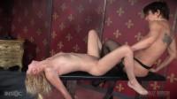 Sexy Blonde Odette Delacroix Gets Brutal Live Stream