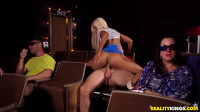 Bridgette B — Sneaky At The Movies — FullHD 1080p