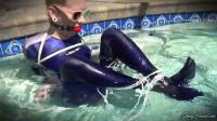 Wet Spandex ASMR Bondage - Lexi Lane