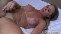 Guy Tongue Fucks Her Nice Tranny Ass