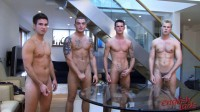 Andy Lee, Jay Hall, Hayden Harris, Leon Oliver