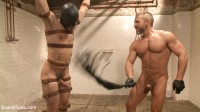 """Download I'll show you fucking leather!"""" - Two punks taken down in the gym"""""""