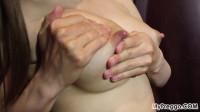 Sabrina Empties Her Full Aching Tits