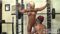 Dani Andrews and Megan Avalon - Tied Up at the Gym