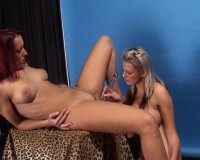 Download Strap-on fucking for the lesbos