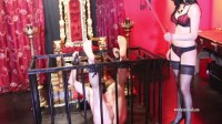 Mistress Iside - Bastinado Punishment - Full HD 1080p (new, floor, dirty, mistress)