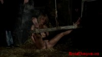 Prostitute Endures Wax Foot Torment – BrutalDungeon