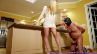 Humiliates And Dominates Her Human Wallet With Chastity And Edging (Complete)