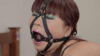 Restricted Senses – Red Rope + Ring Gag + Hitachi