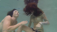 Ginary's Tickle Adventures — Underwater Tickle With Wenona & Ginary