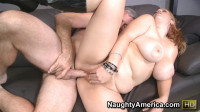 Redhead Curvy Girl Explores Her Sexual Side