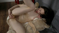 Redhead rubs her hairy pussy in a variety of positions