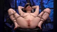 Adrianna Nicole Blonde Restraint Chair And Anal Transformer Aid Liana Nicole (2014)