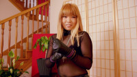 Locked In My New Leather Mittens! — Mina — Full HD 1080p