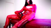 Wet Red Rubber