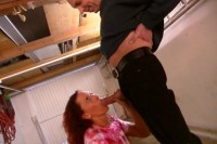 Download Pissing on a redhead