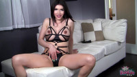 transexual tranny (Black Dildo Pleasures My Tranny Pussy).