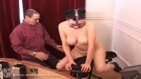 Super bondage, torture and hogtie for young hot brunette
