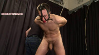 Sergei — Bound and gagged naked