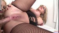 Blonde BBW Anal Threesome