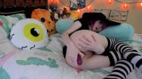Tweetney Witch shows off her anal magic tricks (2018)