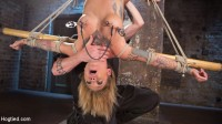 Stunning Tattooed Babe Made to Endure Torment in Brutal Bondage.