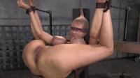SexuallyBroken - Sep 12, 2014 - Huge breasted Rain DeGrey restrained in strict bondage