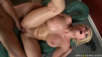 Blonde Girl Knows How To Make A Lovely Massage
