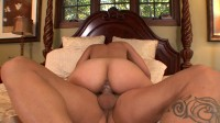 Nicely shaped brunette moaning loud