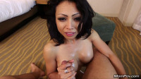 MomPov — Lena — 35 Year Old Busty Petite Asian First-timer