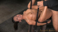 SexuallyBroken - May 22, 2015 - Unbreakable Kalina Ryu restrained and roughly fucked by two cocks