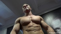 Pumping Muscle — Brock O Photoshoot, Parts 1 and 2