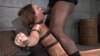 Maddy O'Reilly gets restrained and throatboarded by 2 huge cocks, brutal challenging deepthroat! - tit, deepthroat, video.