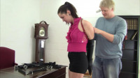 Belle Davis - Over Due For a Leather Hogtie (watch, need, time, gagging)