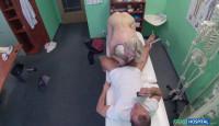 Skinny babe needs medicinal cock