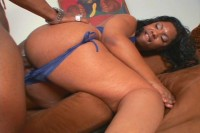 Black Bitch With Huge Booty Gets Reamed