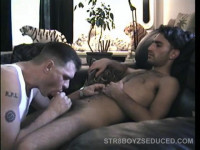 Stroking and Sucking Straight Paulie