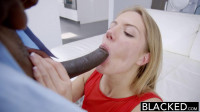 Hot Pretty Blonde Fucked By A Big Black Dick