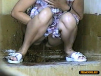 Hidden camera in the women's bathroom from Zosmar Vol.1 - voyeur, toilet, pee.
