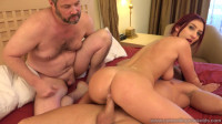 Sneaking Husband (slave, naked, fuck)!
