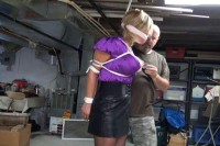Hunterslair - Brutally Bound, Gagged And Left Choking In Her Basement