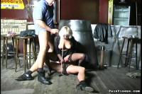 Pain Vixens - Blonde Captive Fucked