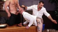 Hot 3some Jaxton Wheeler, John Magnum & Teddy (1080p)