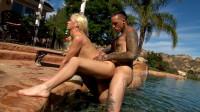 TS Girlfriend Aubrey Kate Gets Hot Pool Fuck