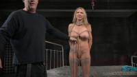Big breasted blonde Rain DeGrey tightly tied (03 Mar 2015)