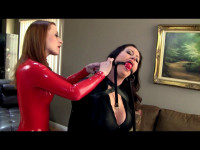 Christina Carter and Serene Isley Sexologist Sexy Leather Dreams