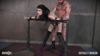 SB - May 05, 2017 - Lydia Black is a tiny spinner with a velvet throat and tiny pussy (bondage, mouth, deep throat).